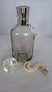Afbeelding van brander glas vierkant grijs