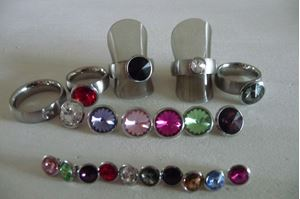 Afbeelding van A kwaliteit stainless steel ring assortiment